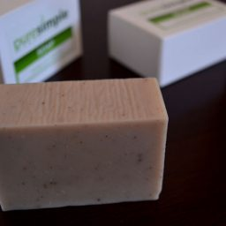 shampoo and soap bar