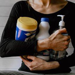 zero waste cleaners spray bottles
